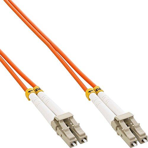 InLine LWL Duplex Kabel, LC/LC, 2m