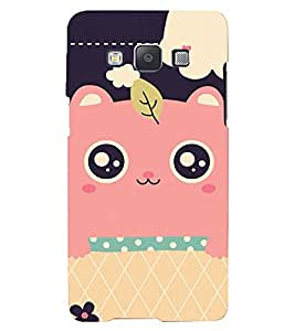 Printvisa Lite Face Cover Backcover For Samsung A5 (Pink)