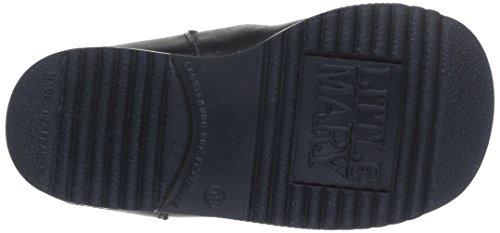 Little Mary Milocho, Chaussures premiers pas mixte bébé Noir (Vachette Noir)