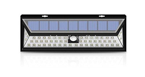 Plafoniere Con Sensore Di Movimento : Hh tec luce solare 54 led impermeabile garantita da