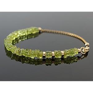 Olivgrünes Peridot Armband