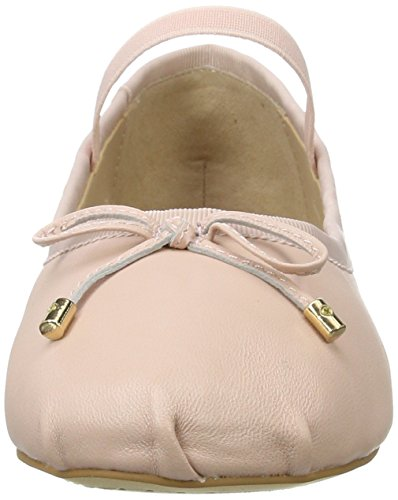 Buffalo London 216-6144 Sheep Leather, Ballerine Donna Rosa (Pink 01)