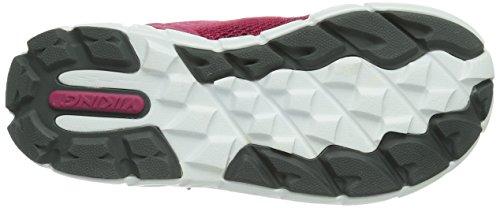 Viking HOBBIT MID GTX Unisex Kinder Sneakers Pink (Dark Pink/Grey 3903)