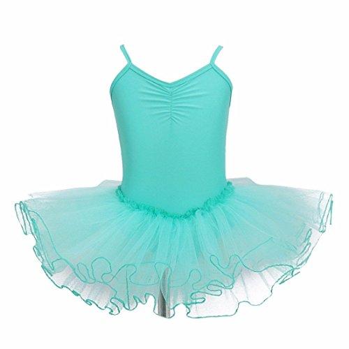 Iiniim ragazza vestito Tutù balletto Dancewear Body ginnastica Clothing