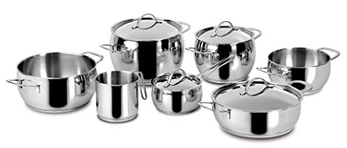 Idea Kitchen: Euforia LAGOSTINA Cookware 11 pieces inox 18/10 bottom induction Lagoseal