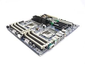 Carte mère HP, station/Système de planche avec RAM DDR3/Dual LGA 1366prises P/N: 576202–001, 460838–002