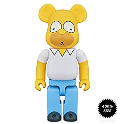 Medicom Toy Homer Simpson Bearbrick By The Simpsons X