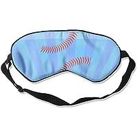 Baseball 99% Eyeshade Blinders Sleeping Eye Patch Eye Mask Blindfold For Travel Insomnia Meditation preisvergleich bei billige-tabletten.eu