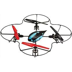 Arcade OrbitCAM - Drone cuadricóptero de largo alcance con cámara, color negro