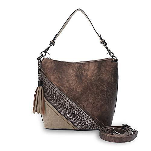 Umhängetasche Damenhandtasche Weiblicher Beutel Handtaschen Für Frauen Mehrere Taschen Mittlere Größe Langer Riemen Umhängetasche Damenhandtasche Für Einkäufe Arbeit TravelWomen's Casual Handbag Schul