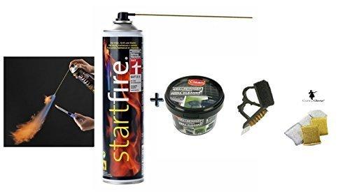 Startfire - Anzünder für Ofen, Grill und Kamin - TESTSIEGER - 300 ml ... (Set 6)