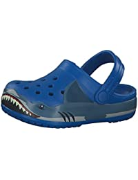 Crocs Fun Lab Shark Band CLG Kids, Obstrucción Unisex Niños, Cobalto Brillante, 30/31 EU