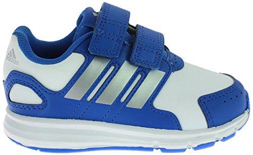Sprint 2 Schuhe (Adidas Babys LK Sport CF I Schuhe, LK Sport CF I, Blue/White/Silver)