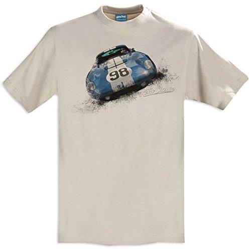 RetroClassic AC Shelby Cobra Daytona Coupe Classic Sports Car Herren T-Shirt Gr. Kragenweite: 43, Sand