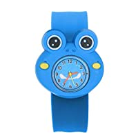 ZFWB Cartoon Pattern Funny Toy Animal Multicolor Gift Sweet Children Watch United States Frog