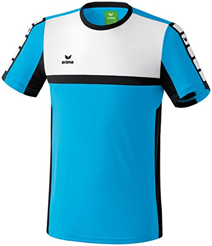 CLASSIC 5-CUBES T-Shirt Curacao/Schwarz/Weiß