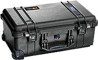 Peli 1510 Carry On Case. Matériel: Polypropylène (PP), Couleur du produit: Noir. Largeur: 559 mm, Profondeur: 351 mm, Hauteur: 229 mm Poids et dimensions -Largeur: 559 mm -Profondeur: 351 mm -Hauteur: 229 mm -Poids: 5,44 kg -Dimensions intérieures (L...