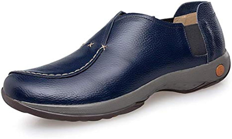ZHRUI Boy's Spell's Dark Dark Dark blu Designer Casual Fashion Loafers UK 9.5 (Coloreee   -, Dimensione   -) | Tatto Comodo  f9c402