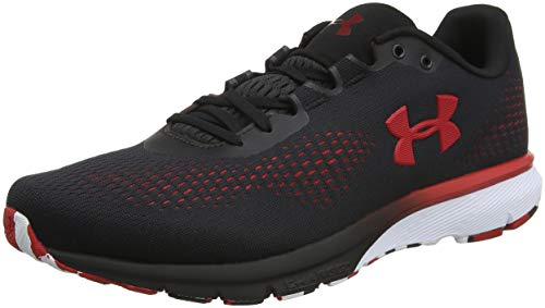 Under Armour UA Charged Spark, Zapatillas para Running para Hombre, Negro (Black Red 001), 47 EU