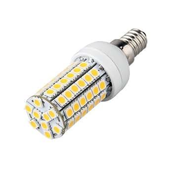 E14 Ampoule Lampe Spot 5050 SMD 69 LEDs Blanc Chaud 3600K 400LM