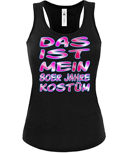 Kostüm Karneval Fasching Motto Schlager Party Frauen Top Outfit Schlagershirt Faschingskostüm Schlagerkostüm Oberteil Accessoires Kleid ()