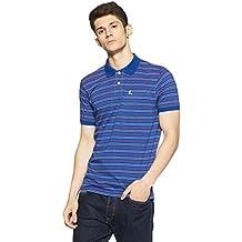 Parx Men's Solid Regular Fit Polo
