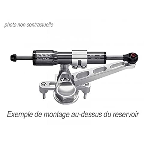 Vérin D'amortisseur De Direction Bitubo 005, Coloris Titane - 7793935