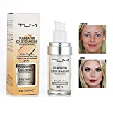 TLM Foundation Color Changing,CosmetiqueTLM Fond de Teint...