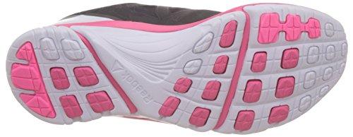Reebok Damen Zstrike Run Sneakers Schwarz / Grau / Rosa / Weiß (Coal/Alloy/Solar Pink/White)
