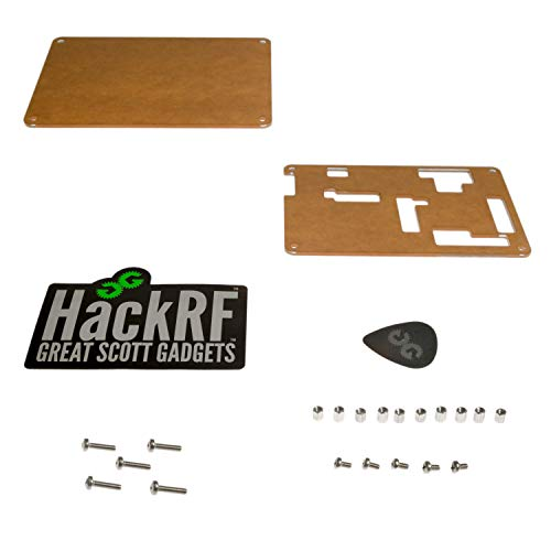 Acrylic Enclosure Kit for HackRF One  Transparent Case Protects Your HackRF  & Allows Easy Access to HackRF Headers