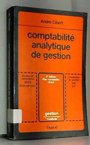 Comptabilit analytique de gestion - Universit et technique
