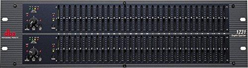 DBX 1231 - EQUALIZZATORE GRAFICO 31 BANDE 2 CANALI