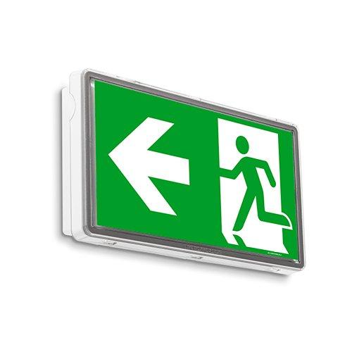 IP 44 LED Notleuchte Notbeleuchtung Exit Notausgang Fluchtwegleuchte Notlicht Fluchtweg