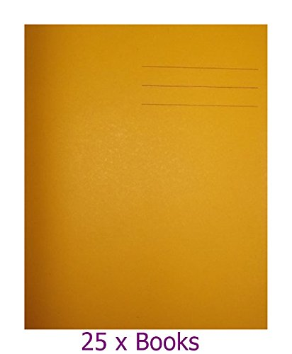 25-x-lined-margin-exercise-books-48-pages-24-sheet-203-x-165mm-yellow-cover-ex15