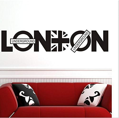 UK London UK Wind beliebte Schlafzimmer Wandaufkleber Kunden Hintergrund 41X49CM