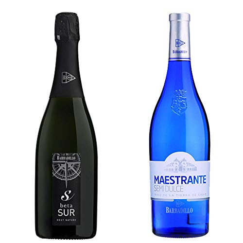 Beta Sur Y Maestrante Semidulce - Vinos De La Tierra De Cádiz - Barbadillo - 2 Botellas De 750 Ml