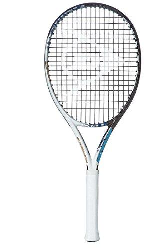 Dunlop Tennisschläger Force 105, Schwarz/Weiß, L - Dunlop Tennisschläger
