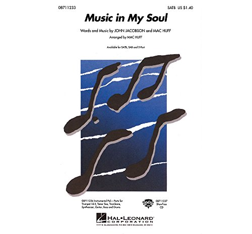 Music in My Soul - 2-part Vocal - CHORAL SCORE