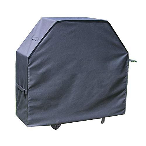 Noir Housse de protection Couvercle de protection Couverture de meubles Couverture de barbecue, Imperméable Crème solaire Anti-déchirure, Convient à De plein air Balcon Tissu Oxford,72*26*51cm