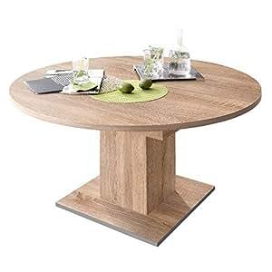 Unbekannt tavolo da pranzo rotondo 120 cm in legno di for Tavolo rotondo estensibile