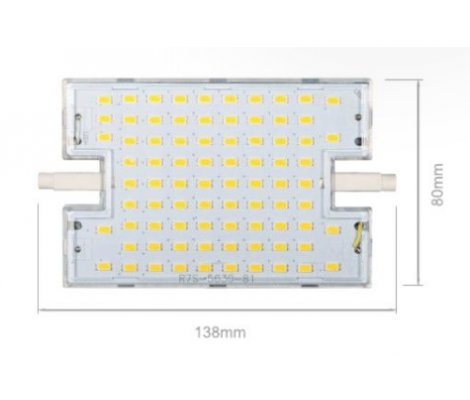 HQI 28W RX7S 138mm 220V 120º LED de Beneito Faure - Blanco natural, R