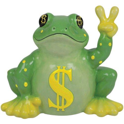 farbe-der-geld-peace-frosch-munze-bank-mit-gelb-dollar-zeichen-symbole