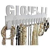 Porta Gioielli da Parete Bijoux Galeara design – Portaoggetti Collana galeara – Orecchini - Porta Collana da Parete Blanc Bra