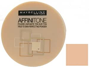Maybelline Affinitone True-To-Skin Perfecting Pressed Powder - 14 Creamy Beige