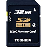 Toshiba High Speed N102 Carte mémoire SDHC 32 Go (Classe 4)