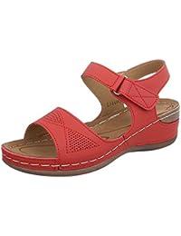 Suchergebnis auf Amazon.de für  Helle - Sandalen   Damen  Schuhe ... d236439460