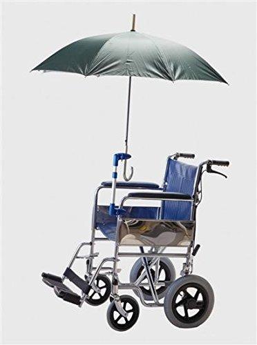 Soporte paraguas sillas ruedas andadores, Manos libres