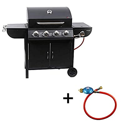 Mayer Barbecue ZUNDA Gasgrill MGG-541 Basic mit Seitenbrenner