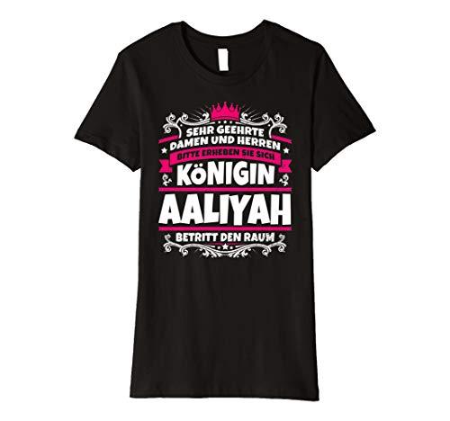 Aaliyah Name Lustiges Königin Shirt Vorname Geschenk-Idee