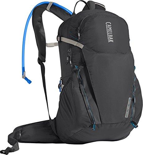 Camelbak Products LLC Uni Camelbak Rim Runner 22 Hydration Pack Trinkrucksack, Charcoal/Grecian Blue, 85 oz